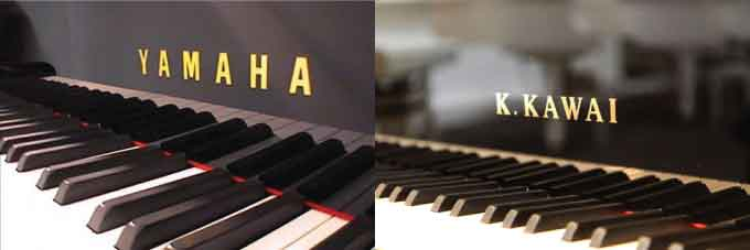 Nên mua đàn Piano cơ Yamaha hay Kawai ?