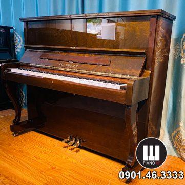Piano EARL WINDSOR Nâu Canh Dán 01