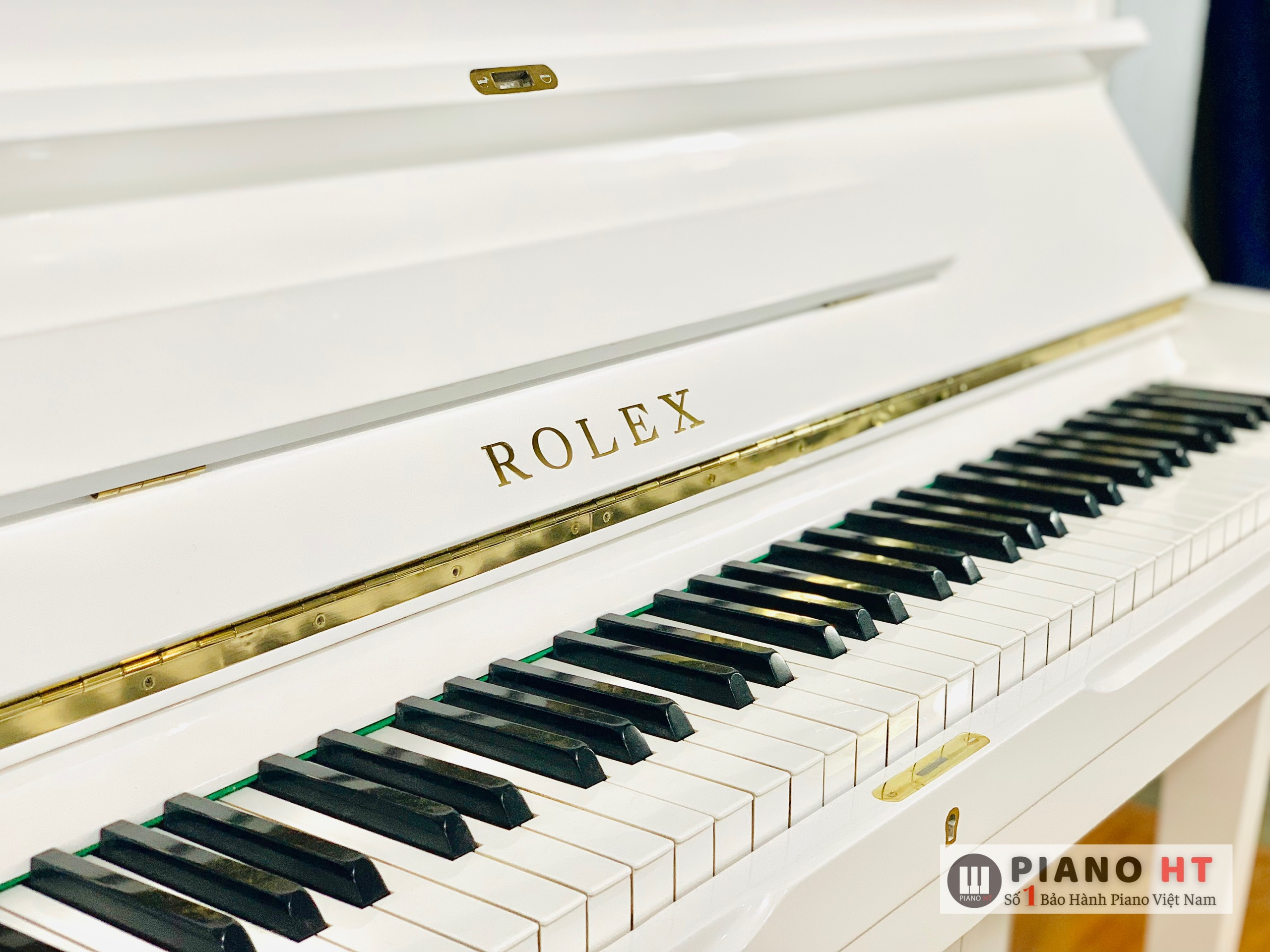 Rolex Đàn Piano Trắng 02