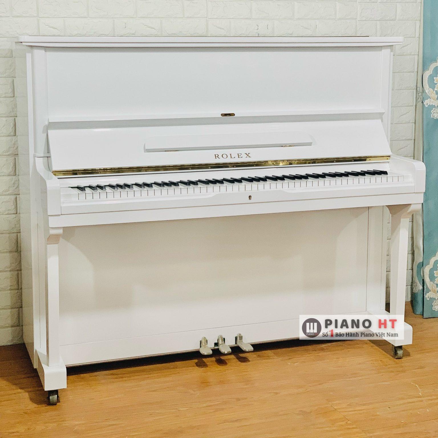 Rolex Đàn Piano Trắng 03
